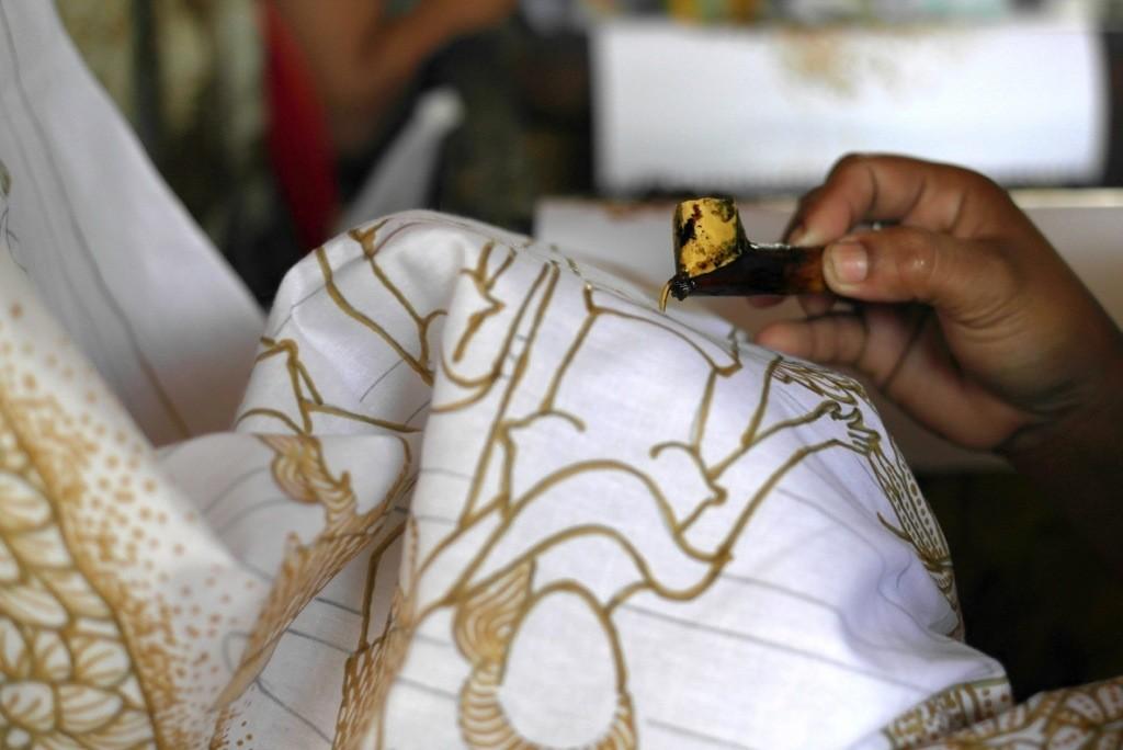 Bali – Batikherstellung