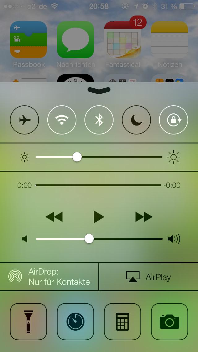 iOS 7 – Erster Eindruck